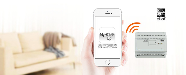 MyHOME / MyHOME_Up bei AG Elektrotechnik in Frammersbach